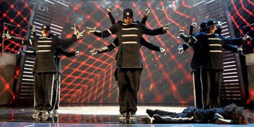 Grupo Diversity, venceu Susan Boyle na final